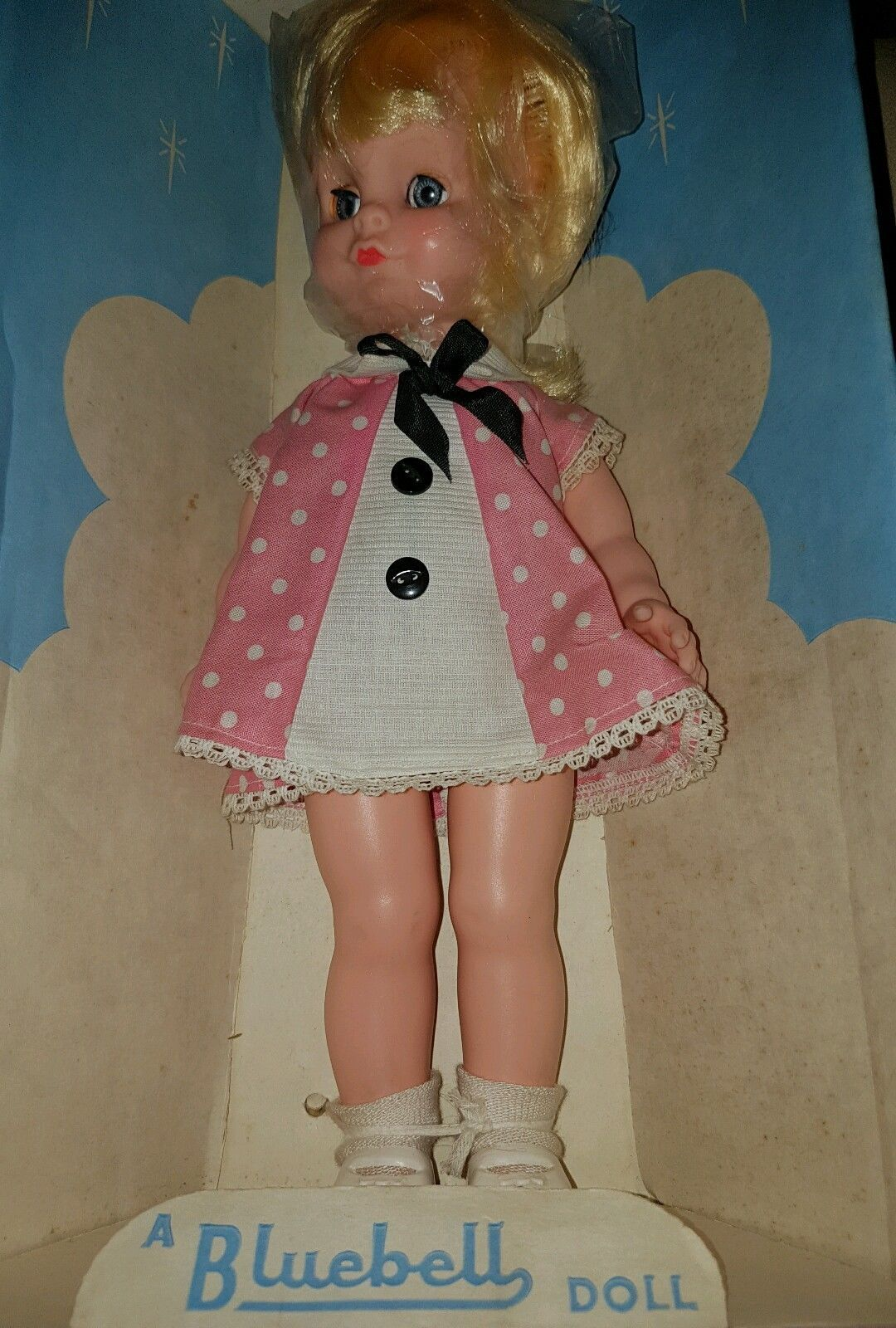 Rare Boxed 1960s / 1970's Bluebell Doll Dolls, Vintage