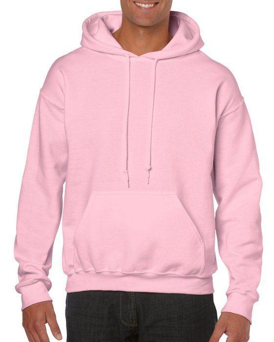 Cotton blend hoodie Light pink