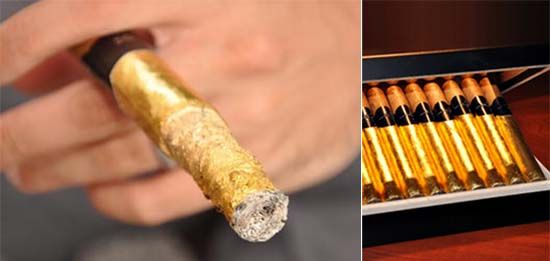 For Cigar Connoisseurs: London Cut Bourbon-Aged and Gold