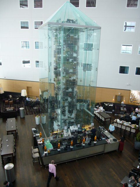 Aureole Las Vegas Where They Have Wine Angels Who Quot Fly