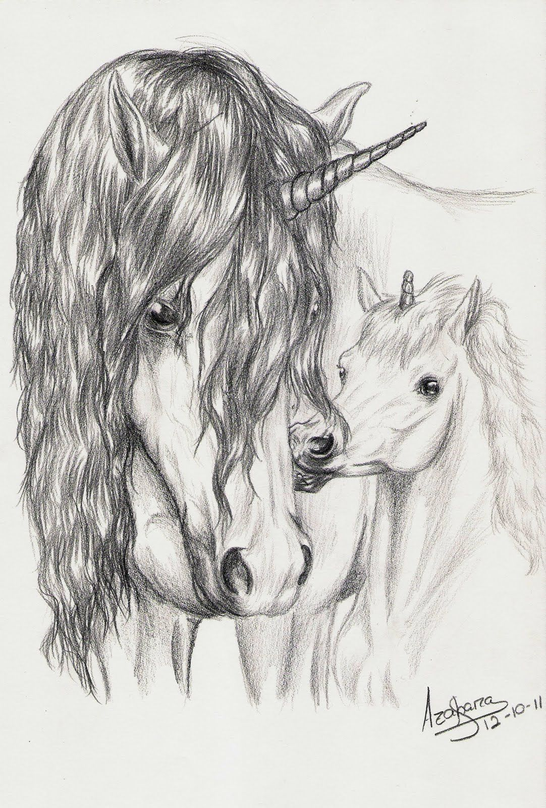 Unicorn horse unicorn art unicorn pictures pencil drawings art drawings van