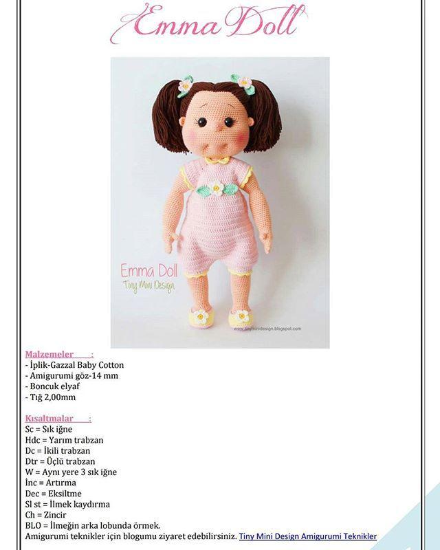 Knitted Toys & Amigurumi / Amigurumi bebek at sahibinden.com ... | 800x640