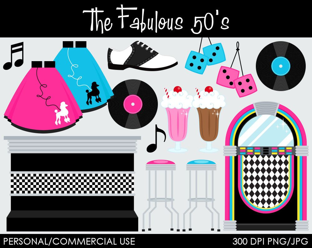 Clip Art 50s Clip Art 1000 images about 50s on pinterest 1950s design retro and girl birthday