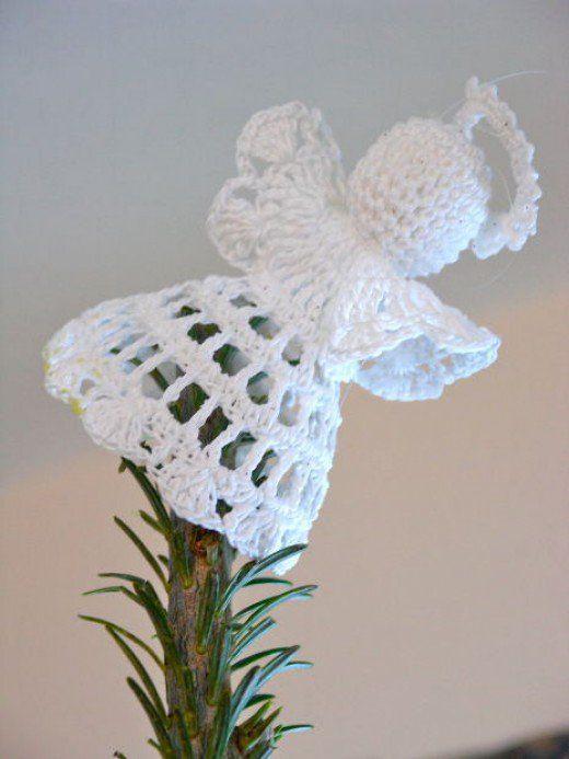 Over 20 Free Crochet Angel Patterns | Angelitas, Navidad y Tejido