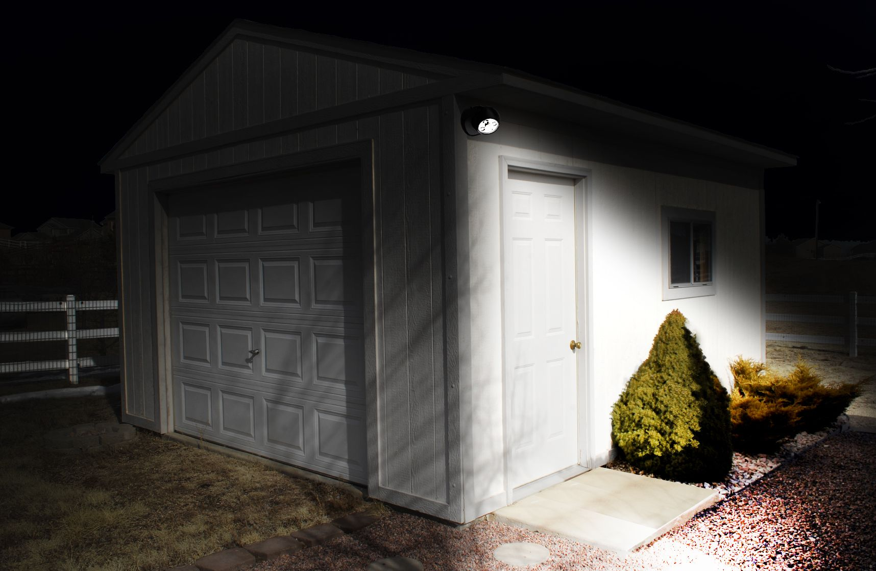 Batterypowered motionactivated anywhere light garage pinterest