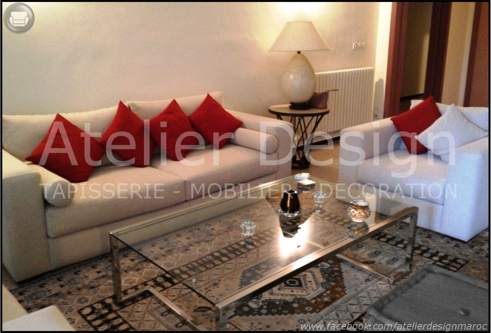 salon moderne canap table basse rnovation salon atelier design