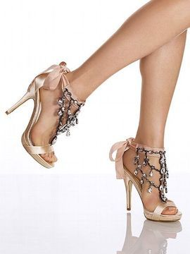 ShopStyle: Victoria's Secret Colin Stuart Chandelier Stiletto Sandal $89.99