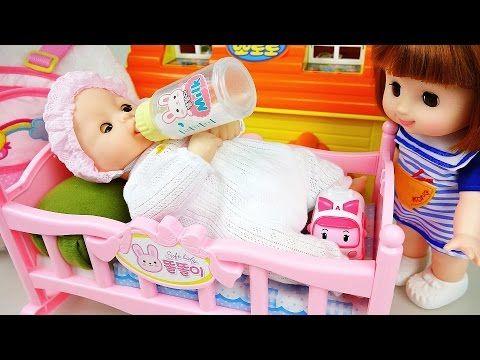 Ambulance baby doll Doctor Pororo toys 콩순이 119병원놀이 와 뽀로로 겨울왕국 장난감 - YouTube