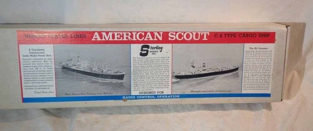 Details about Vintage Sterling Models United States Lines ...