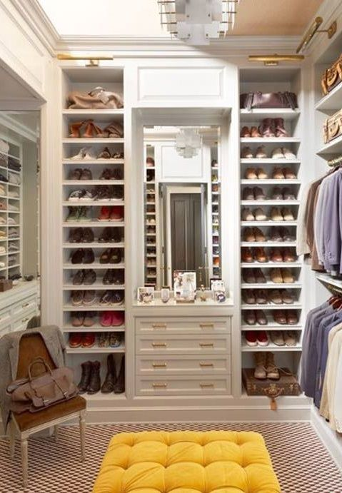 Design Ideas For Your Walk In Closet | Dressing Room, Room Ideas And  Dressings