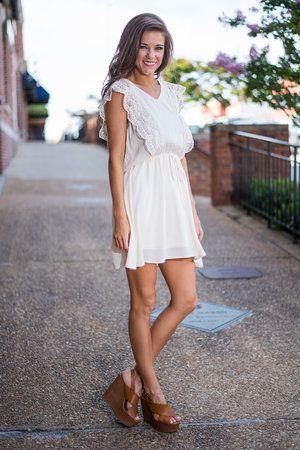 Woo Do You Love Dress, Ivory