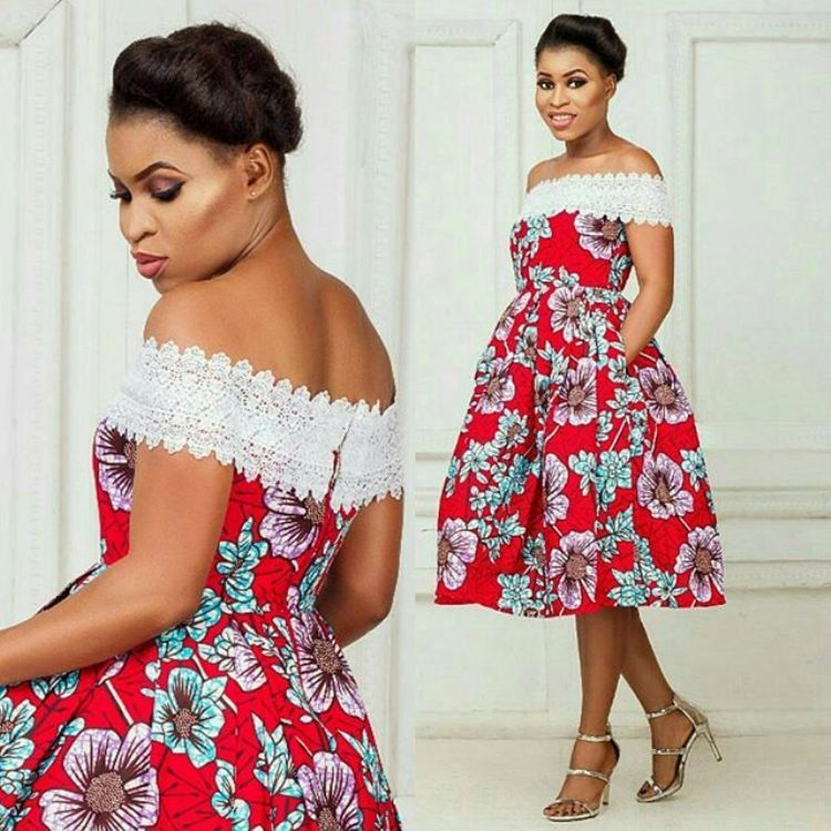 Latest Ankara Short Gown Styles 2018 For African Women | Western ...