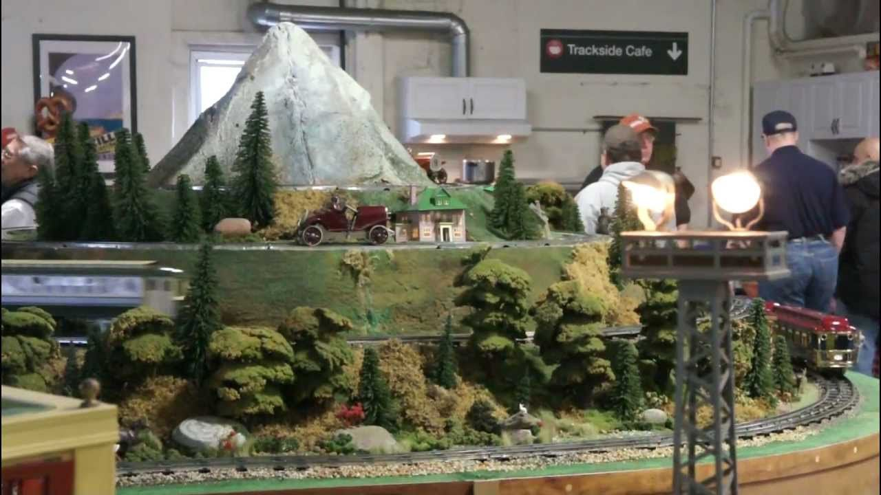 Snyders Model A >> Tom Snyder S Model Train Layout At The Nj Hirailers