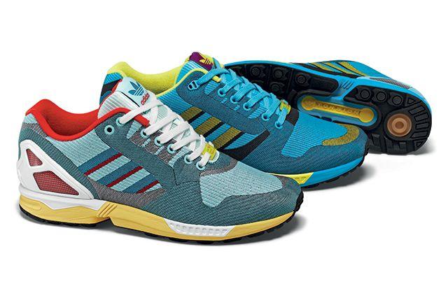 timeless design c6df3 80b16 ADIDAS ORIGINALS ZX FLUX ( 000 OG WEAVE PACK)   Sneaker Freaker
