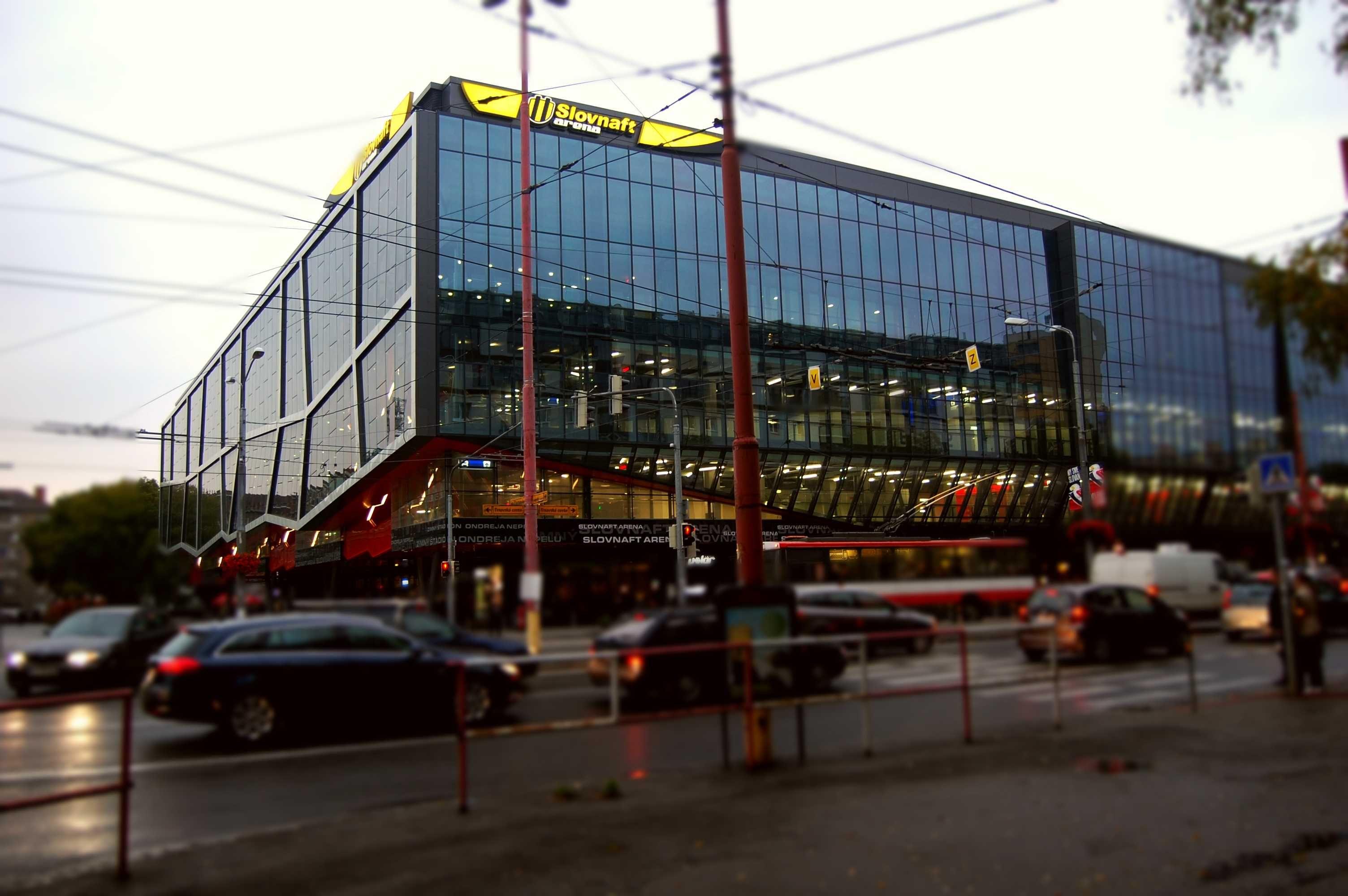 Bratislava Bratislavsky Kraj Bratislava Hockey Arena Arenas