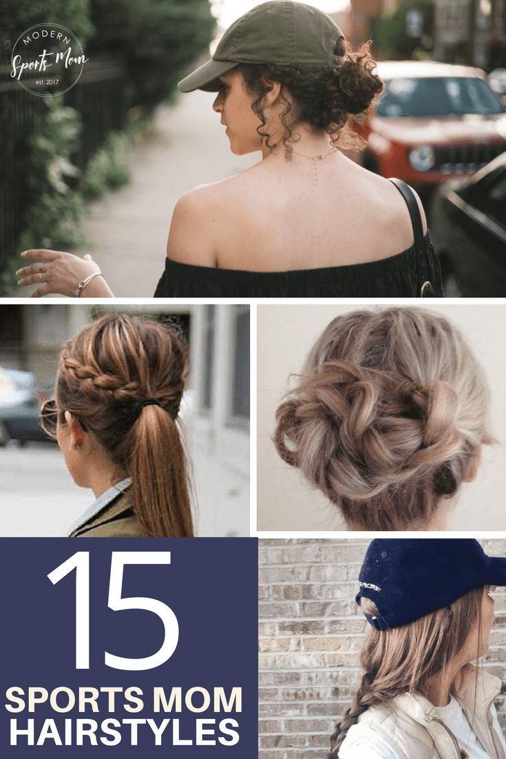 15 game day hairstyles | best of modern sports mom blog