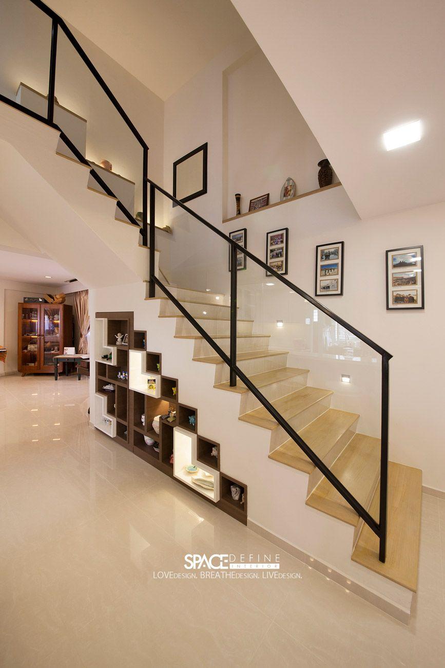 Bishan Retro Executive Maisonette HDB Interior Design Maximise