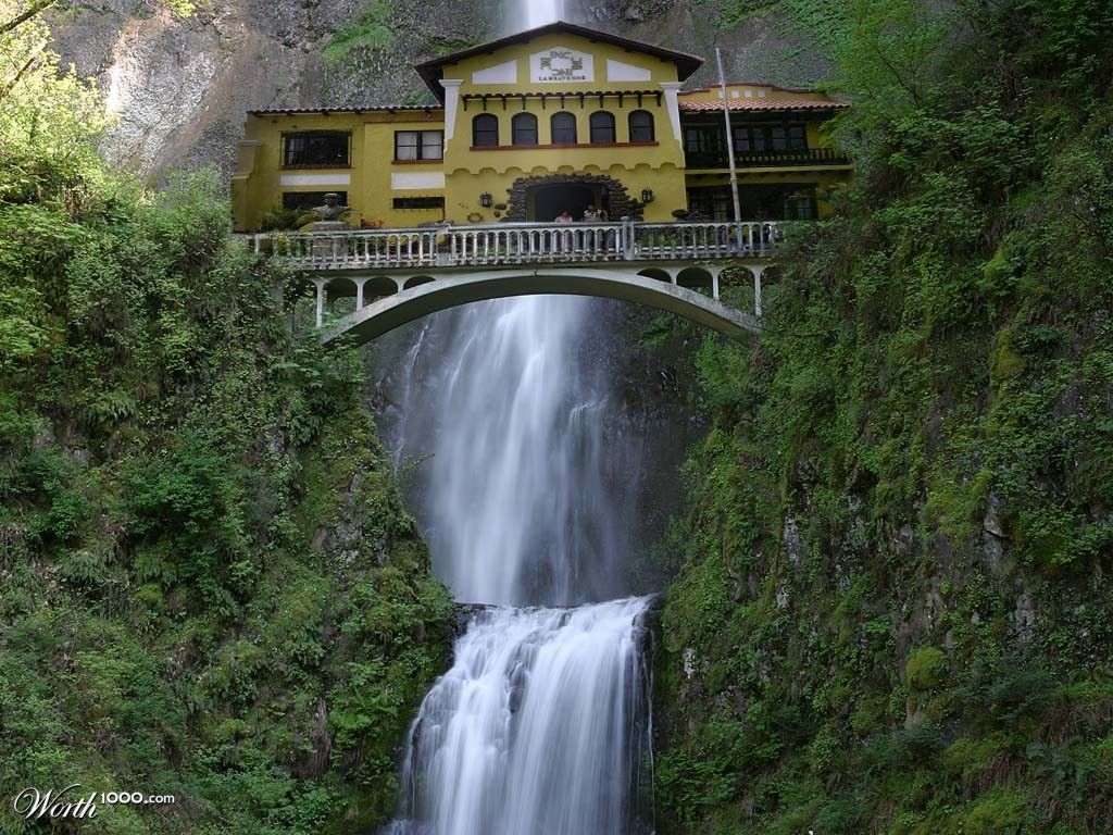 The House At The Waterfall   Worth1000 Contests Part 36