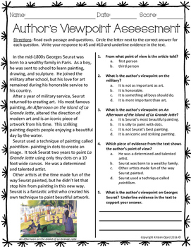Author S Viewpoint Assessment With Images Authors Viewpoint