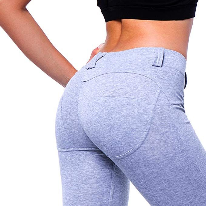 93f180ee7 Fittoo Women s Heart Shape Yoga Pants Sport Pants Workout Leggings Sexy  High Waist Trousers at Amazon Women s Clothing store