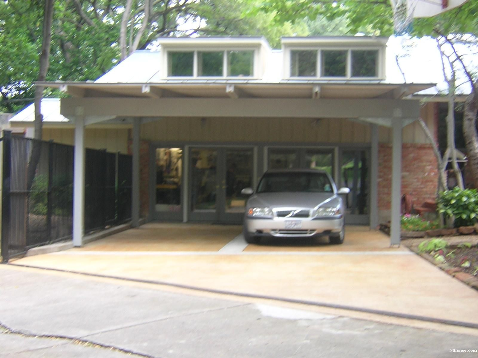 Metal Carport Landscaping : Google image result for http fence andnow