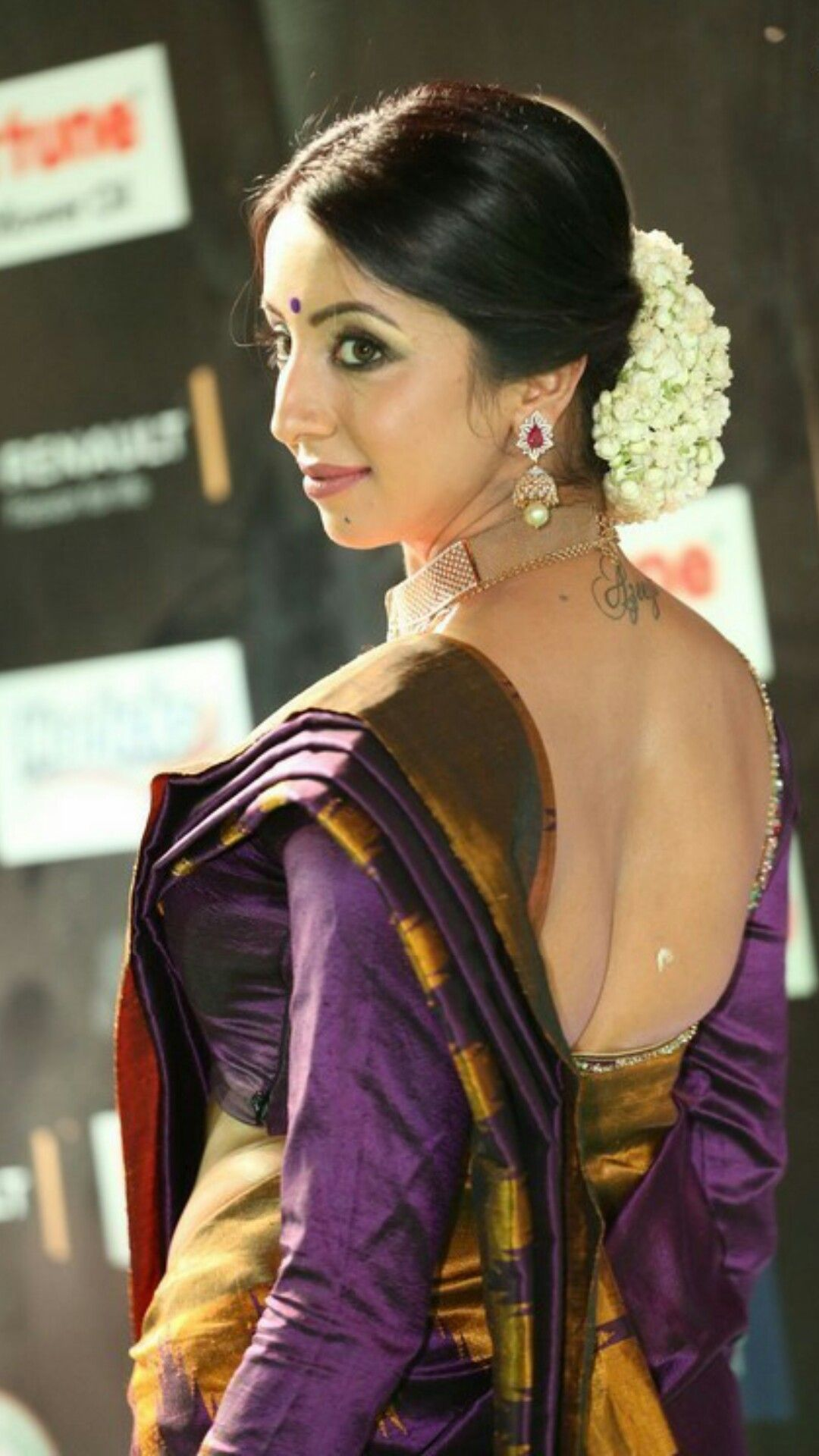 Pin by MOHAN on sandhya (With images) | Backless blouse, Saree