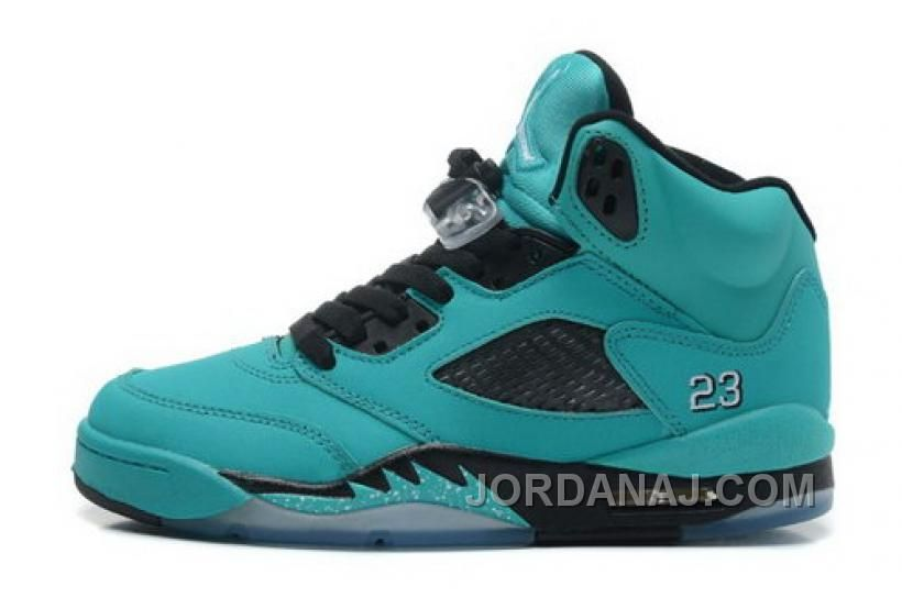 http://www.jordanaj.com/buy-girls-air-jordan-5-v-retro-shoes-cyan-on-sale.html BUY GIRLS AIR JORDAN 5 V RETRO SHOES CYAN ON SALE Only $95.00 , Free Shipping!