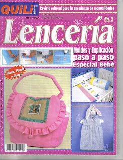 Revistas de Manualidades Para Descargar: Quili Lenceria N°2