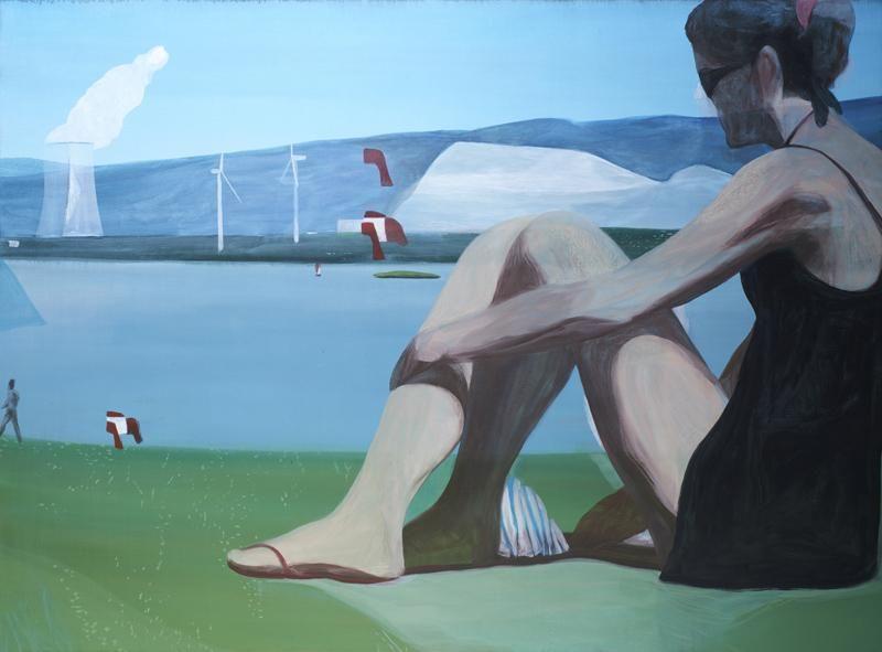 Marc Desgrandchamps, Untitled, 2014, Galerie EIGEN+ART