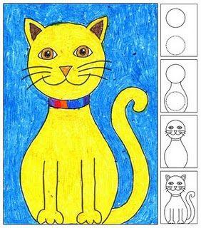 Search Results For Label Drawing Katzenzeichnung Katzen Zeichnungen Kunststunden
