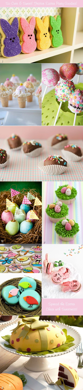 Sweet edible favor ideas for an Easter season bridal shower