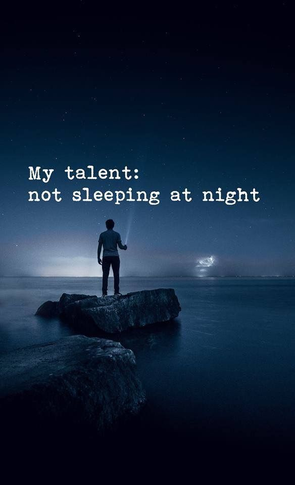Citaten Over Talent : My talent t sleeping at night mes favoris my favorites