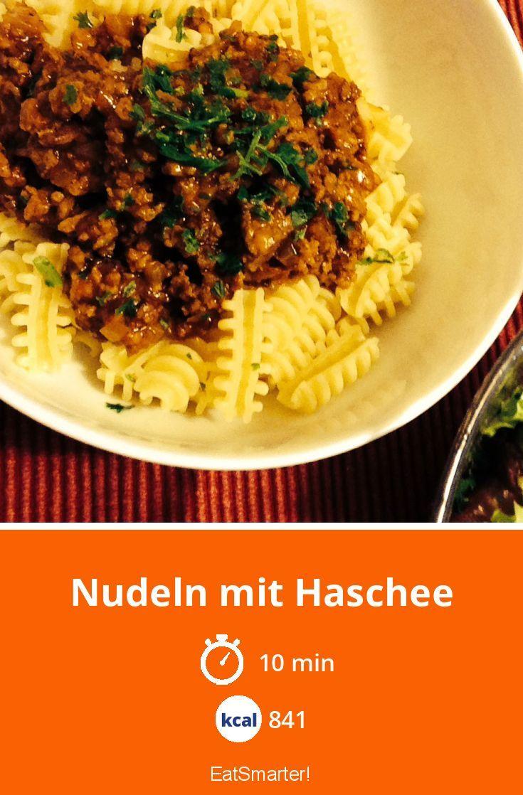 Photo of Nudeln mit Haschee