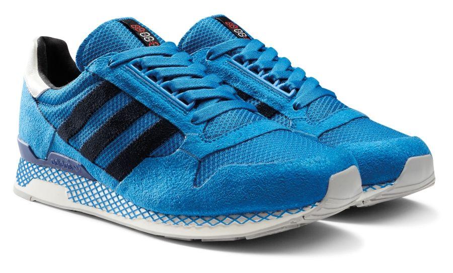 Adidas Kleger super blanco / azul / rojo zapatillas Pinterest