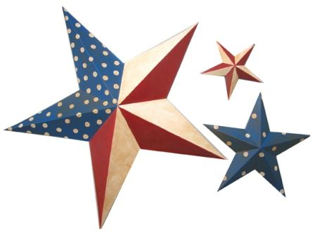 Red, White and Blue Stars | Holidays - 4th of July | Pinterest ...