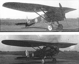 6 November 1922 First flight #flighttest of the Bristol Bullfinch