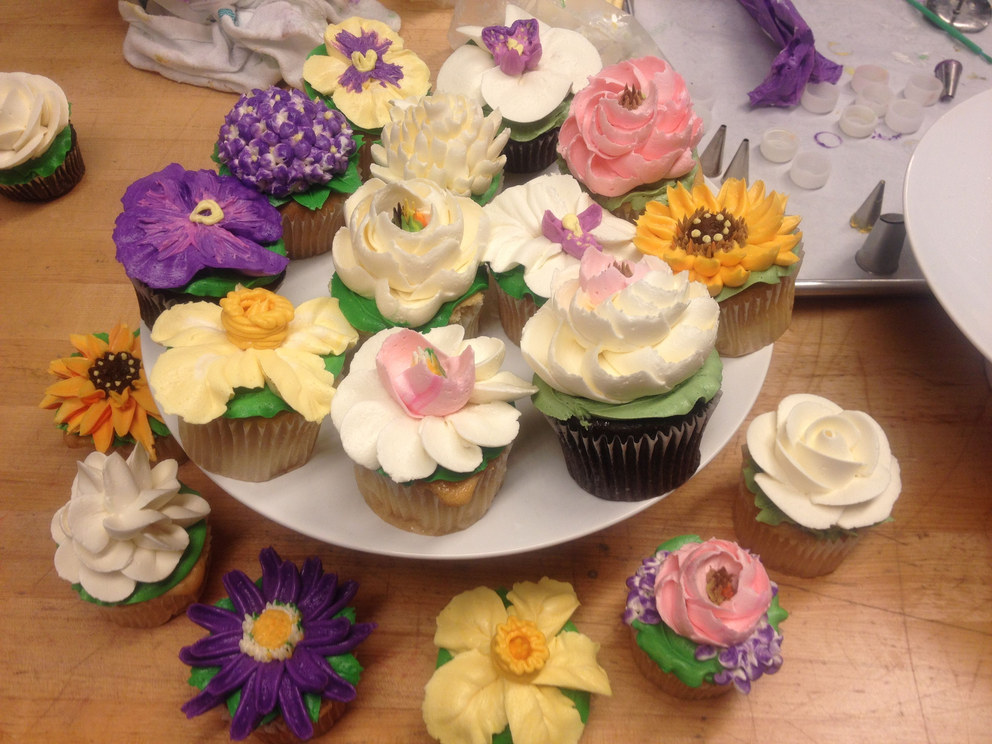 Floral Cupcakes By The White Flower Cake Shoppe Its All About