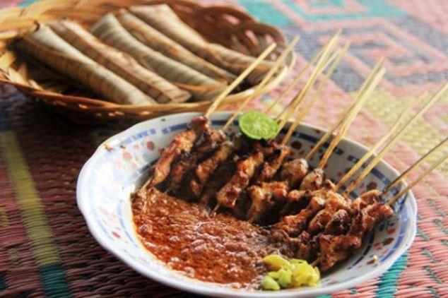 Wisata Kuliner Sate Ampet Khas Lombok Di Kawasan Wisata Suranadi Masakan Indonesia Beautiful