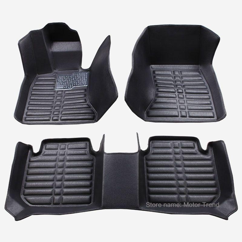 Custom Fit Car Floor Mats For Ford Fiesta Mk7 3d Waterproof All Weather Heavy Duty Car Styling Carpet Rugs Floor Liners 2008 Car Floor Mats Fit Car Floor Mats