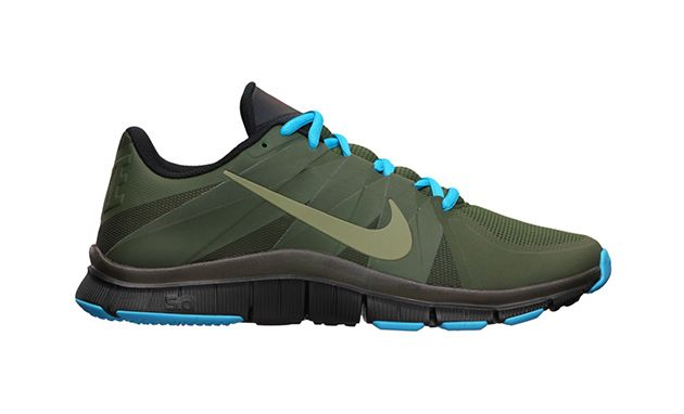 72f02ee6195 Forest Green + Turquoise Nike Free Trainer 5.0