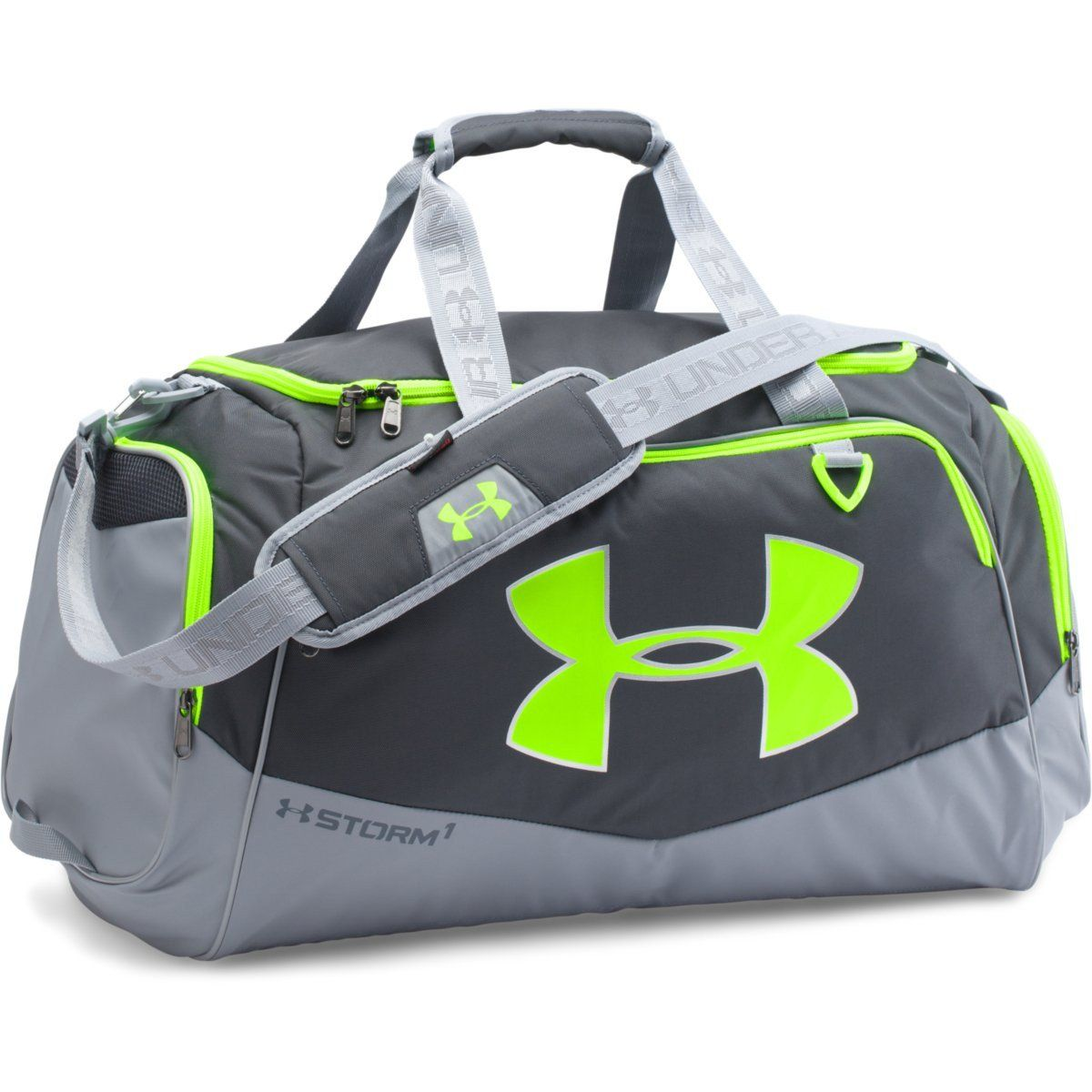 047d3ac823 Under Armour Green Grey UA Undeniable Small Duffel