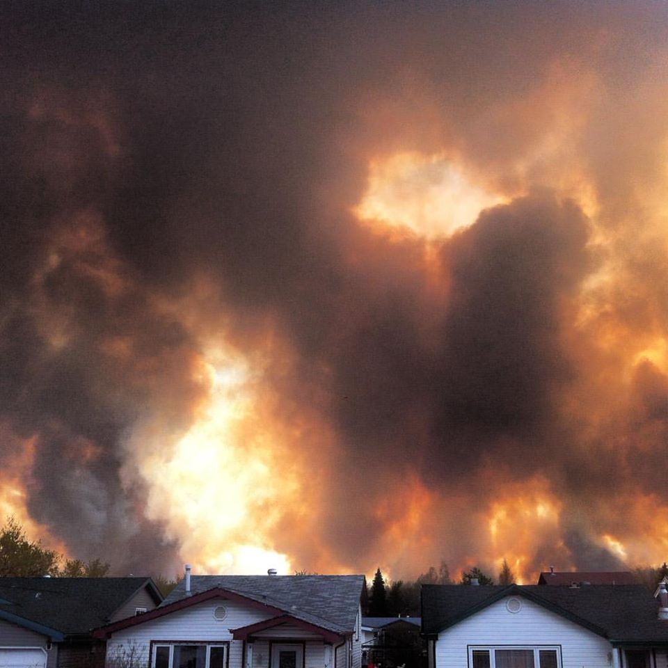 How one family fled the flames of the Fort McMurray fire. #ymmfire #FortMacFire #ymm
