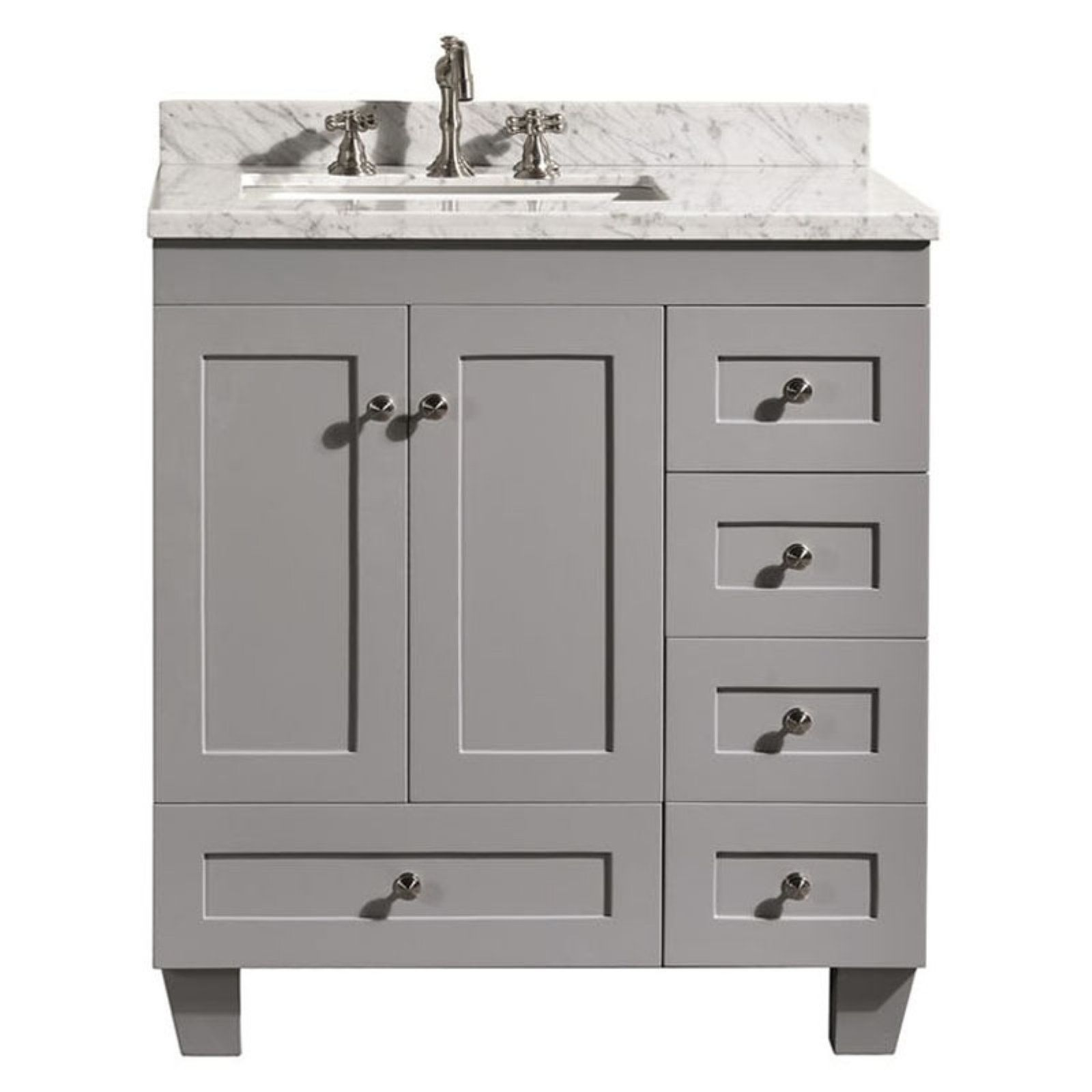 Eviva Acclaim 30 In Single Bathroom Vanity Set 30 Inch Bathroom