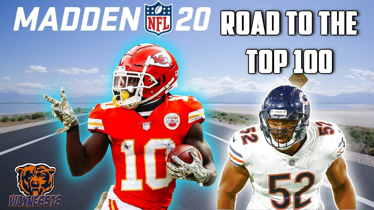 Madden 20 Road To The Top 100 My 2nd Game Back And We Face The Chiefs In 2020 Madden Madden Nfl 100 Games