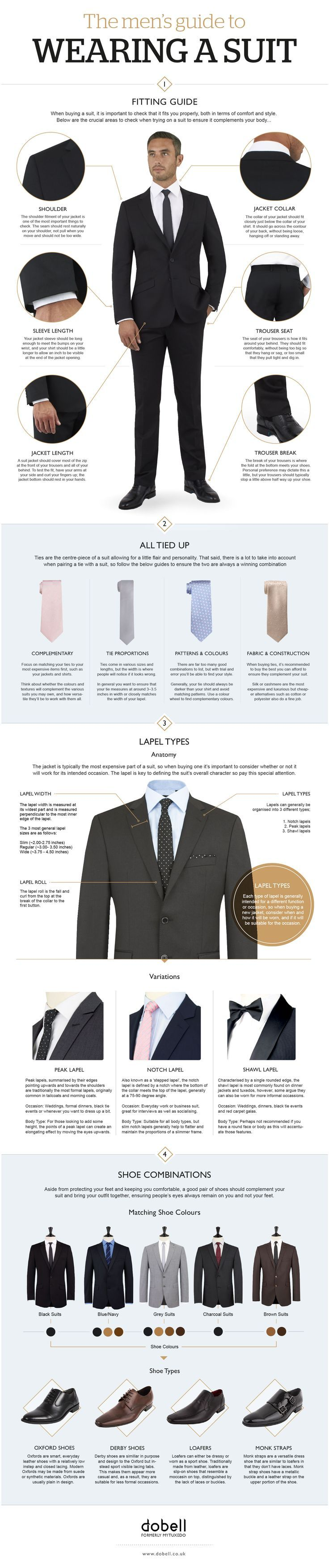 Every Man Should Know These Tips To Look Good In A Suit #men'ssuits