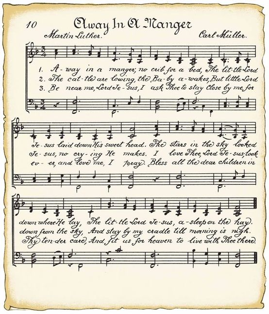 graphic relating to Vintage Christmas Sheet Music Printable,frosty the Snowman called Xmas tunes, absent within just a manger - I take pleasure in this track
