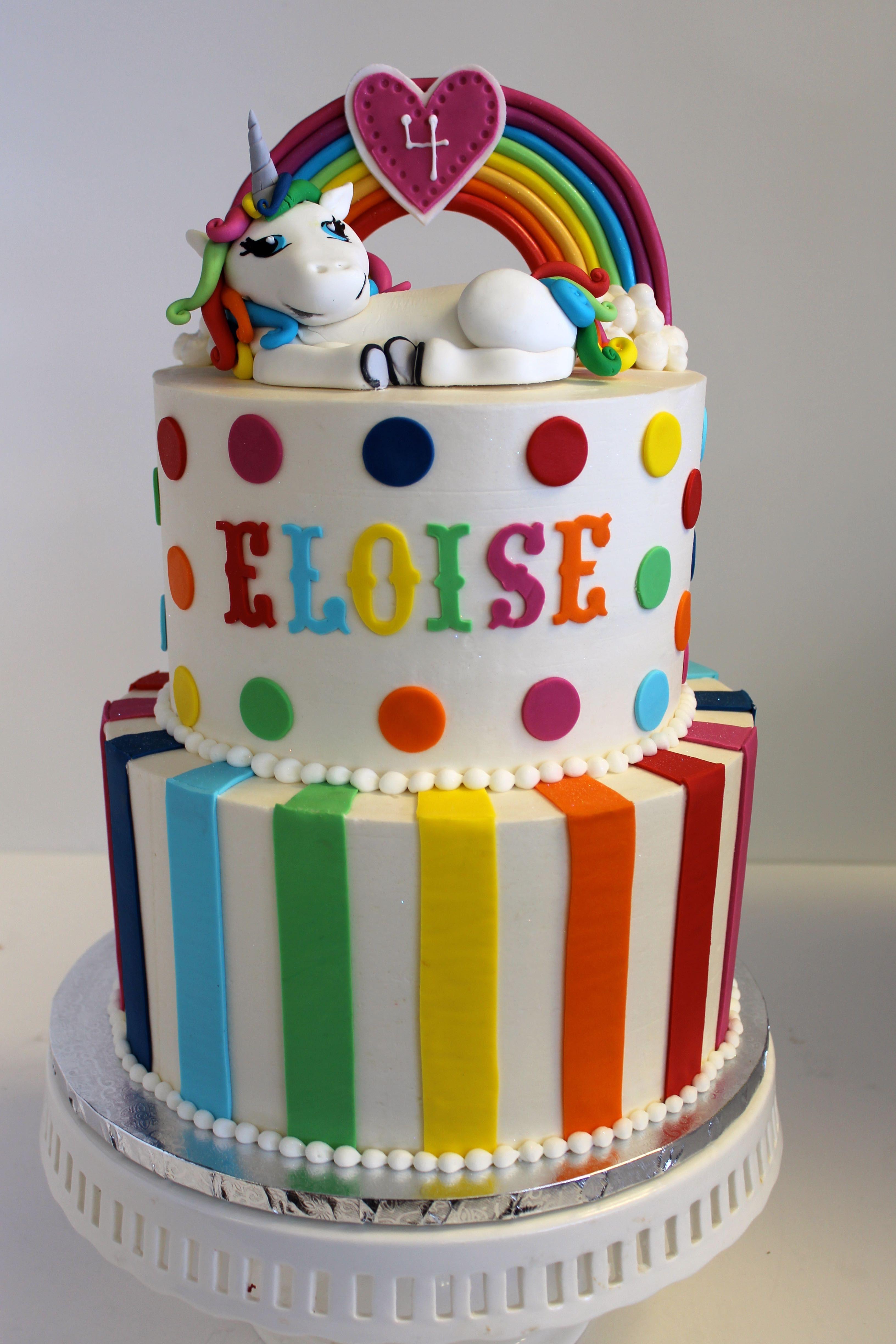 Happy birthday to eloise rainbows unicorns lisafrank