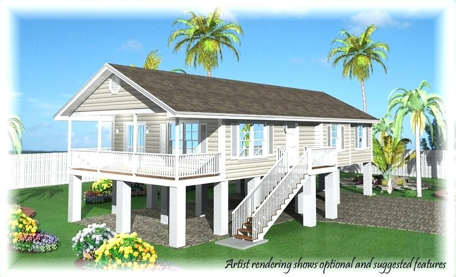 Best Of Key West Style House Plans For Base Price Fees Options And Credits Of Our Homes For Key West S In 2020 Coastal House Plans Small Beach Houses Beach House Plans