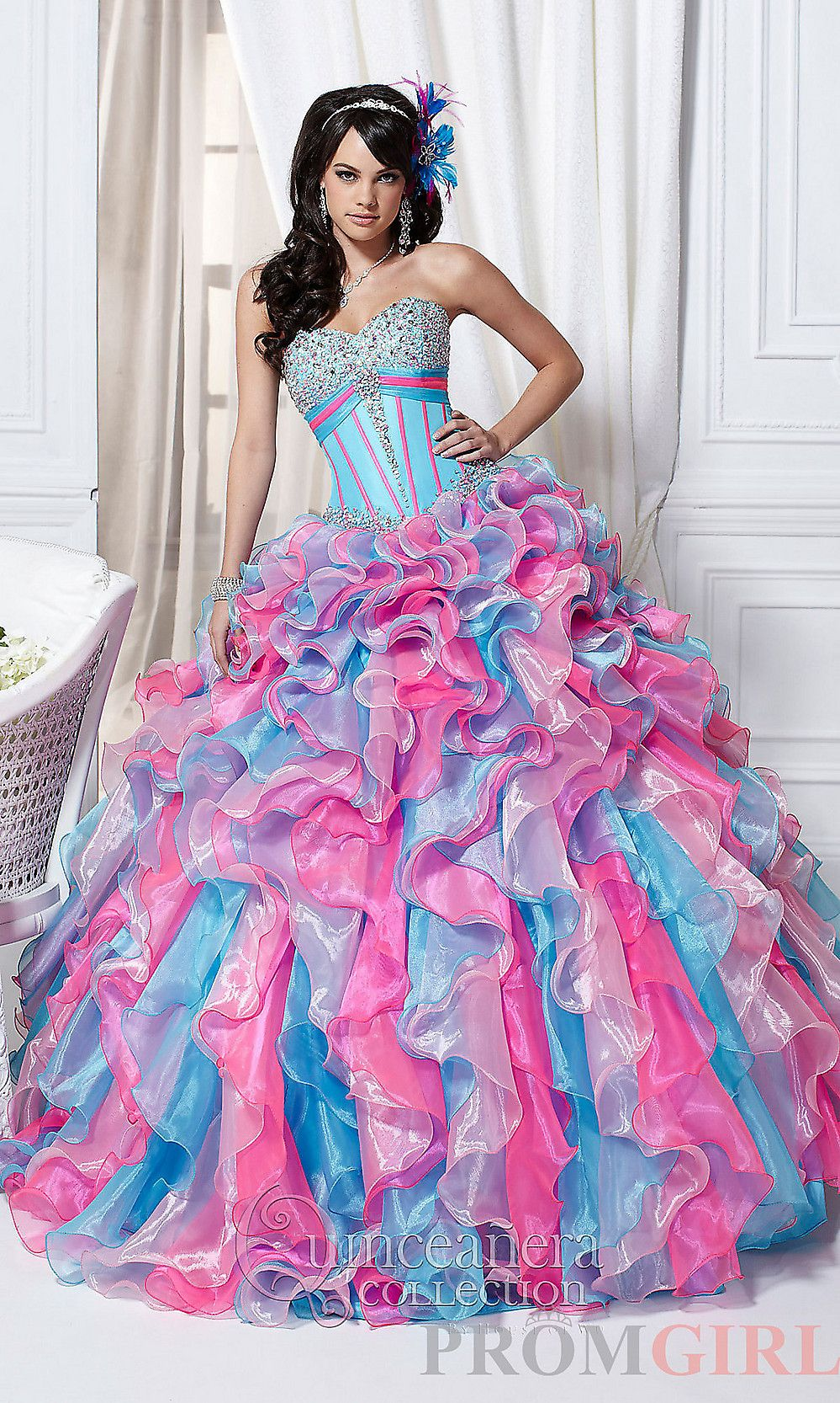Who knew Rainbow Brite had a quinceanera... | dresses | Pinterest ...