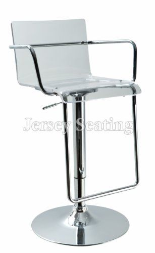 Clear Bar Stools Plastic Clear Kitchen Bar Stools In